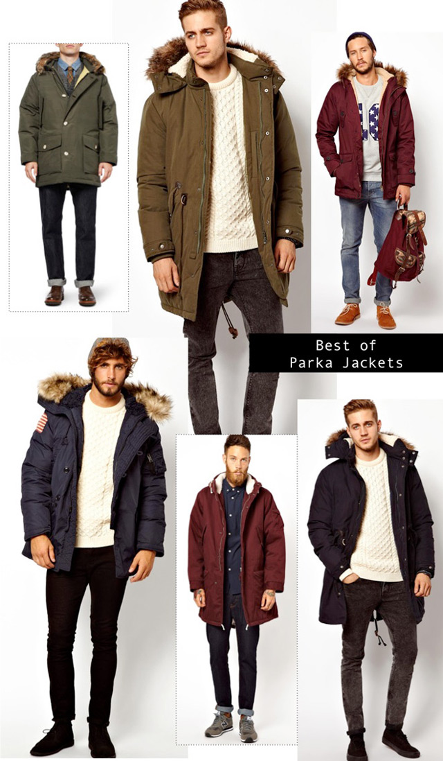 Parka Coats Mens Clothing
