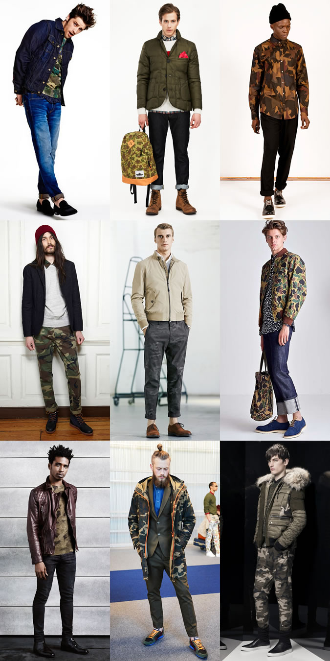2015 AW menswear trends
