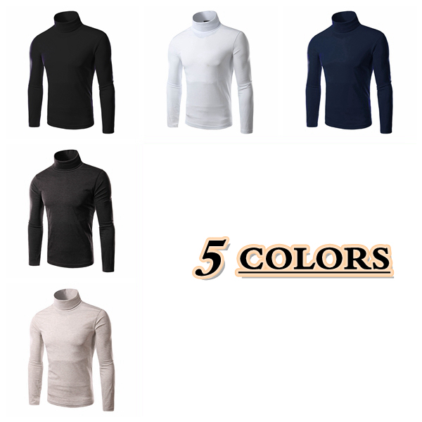men roll necks