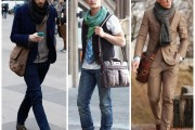 Men Oxford Cross Body Bag