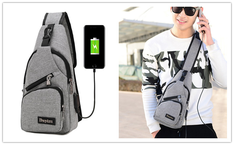 Men Casual Sling Bag