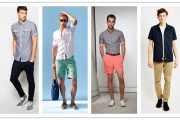Short-sleeved Shirt: Summer Fashion Option for Men