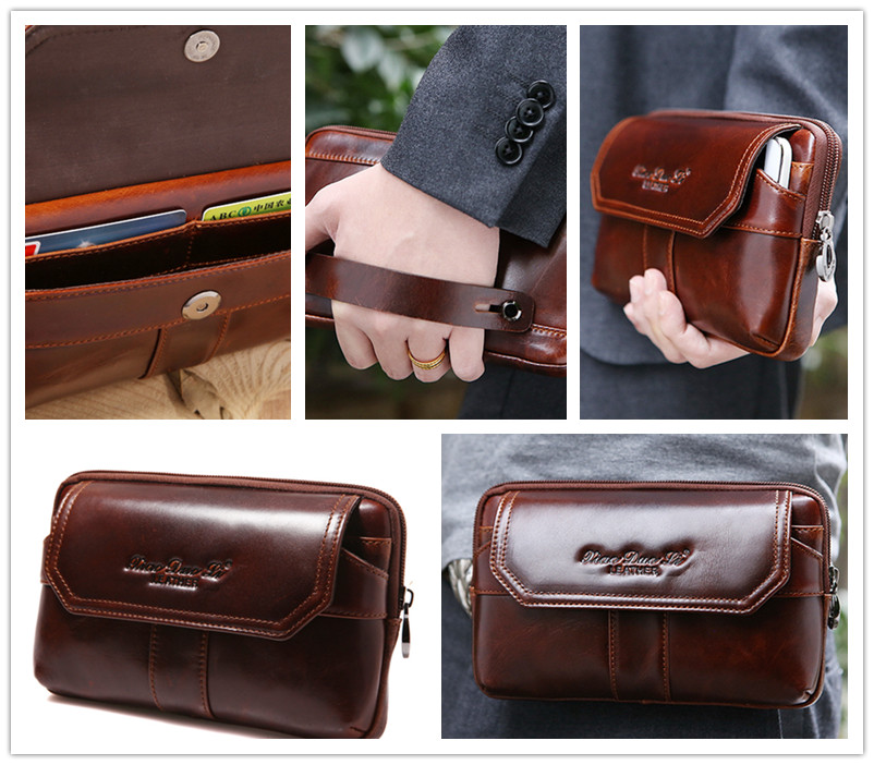 Men Waist Phone Bag