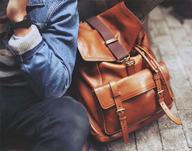 How to Go About Buying Genuine Leather Bags and Backpacks - Men ...