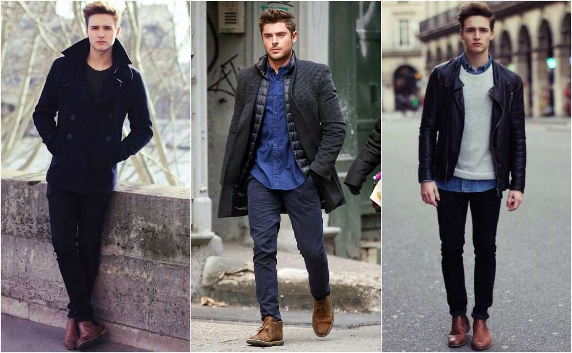 How To Combine Your Jeans With Men Ankle Boots Men