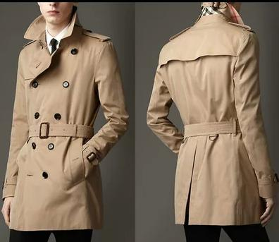 Mens Casual Trench Coat
