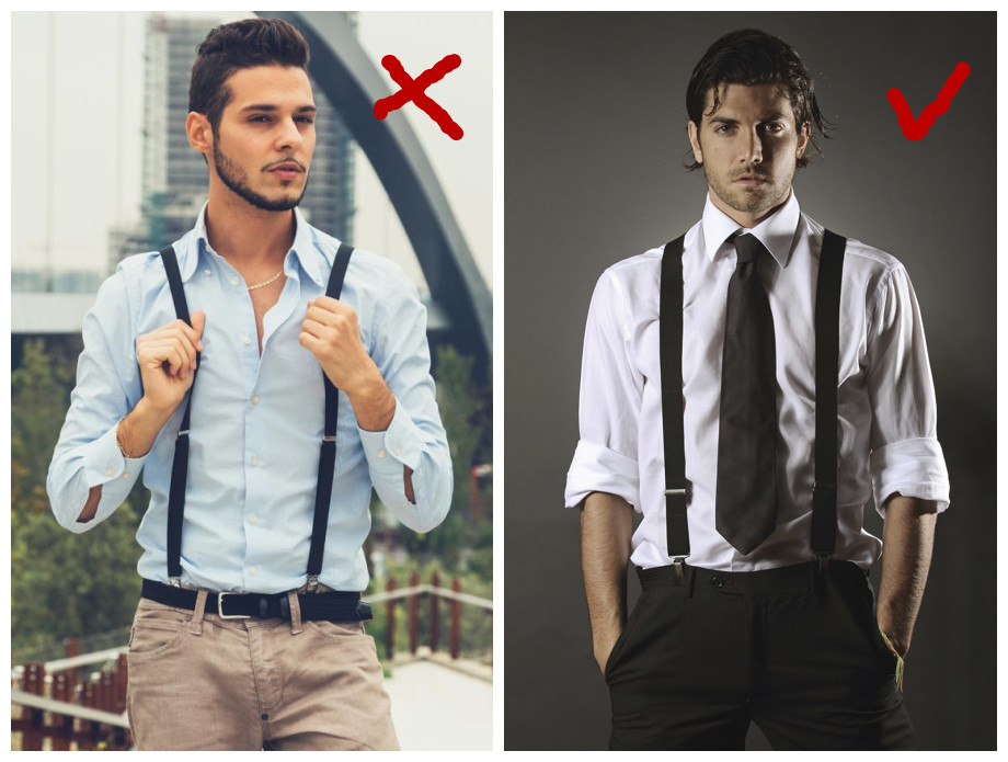 mens suspenders