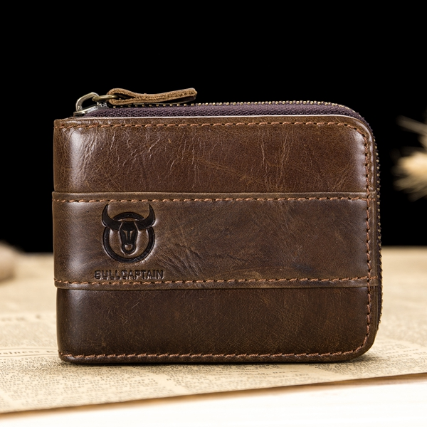 RFID Genuine Leather Wallet