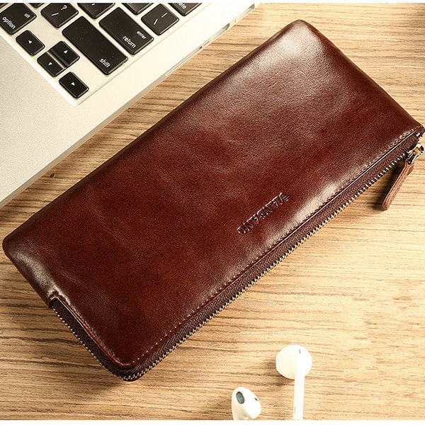 Genuine Leather Phone Wallet