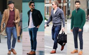 mens casual oxfords