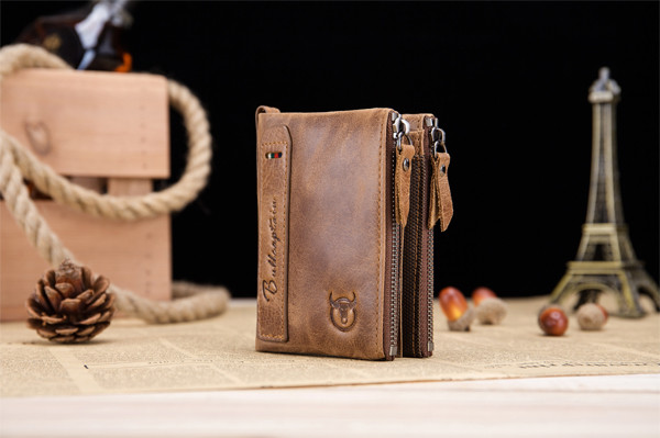 Bullcaptain Leather Wallet